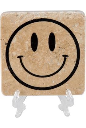 Marblection Smile Bardak Altlığı