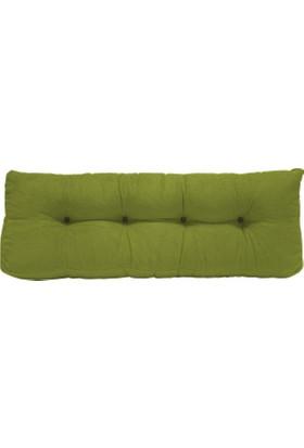 Naz İç Mekan Palet Uzun Sırt Minderi | Yeşil