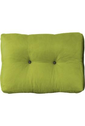Naz İç Mekan Palet Kısa Sırt Minderi | Yeşil