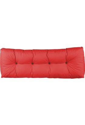 Kayra Dış Mekan Palet Uzun Sırt Minderi | Kırmızı