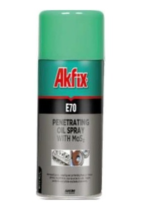 Akfix E70 Pas Sökücü Sprey 200 Ml