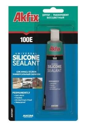 Akfix Unıversal Silikon Sealant 100E 50Ml