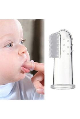 Smiley Baby 0-3 Ay Silikon Parmak Diş Fırçası