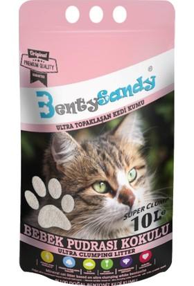 Benty Sandy Ultra Topaklaşan Kedi Kumu(Bebek Pudrası Kokulu)