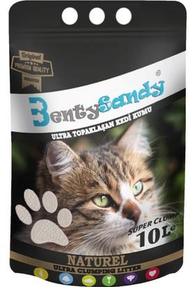 Benty Sandy Ultra Topaklaşan Kedi Kumu(Naturel)