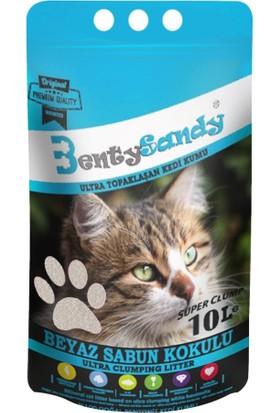 Benty Sandy Ultra Topaklaşan Kedi Kumu(Sabun Kokulu)