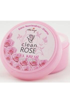 Clean Rose Etkin Nemlendirici Gül Kremi 125 Ml