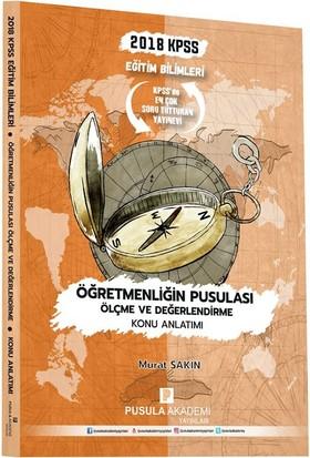 Pusula Akademi Yayınları Kpss Öğretmenliğin Pusulası Ölçme Ve Değerlendirme Konu Anlatımı 2018