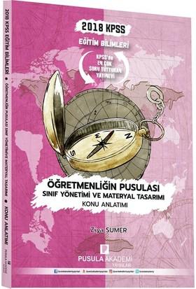 Pusula Akademi Yayınları Kpss Öğretmenliğin Pusulası Sınıf Yönetimi Ve Materyal Tasarımı Konu Anlatımı 2018