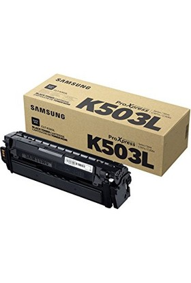 Samsung Clt-K503L Sl-C3060Fr Siyah Orjinal Toner - 8000 Sayfa
