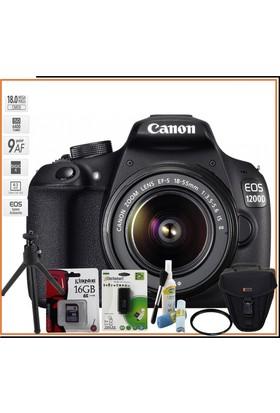 Canon Eos 1200D + 18-55Mm Is Iı Lens Kit Mega Kit