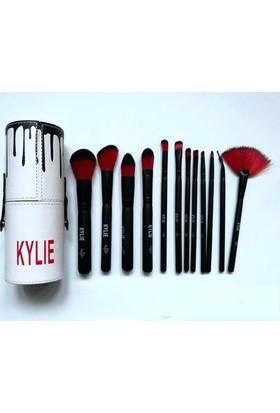 Ekonomikkpazar Kylie Makyaj Fırçası 12 Parça Makyaj