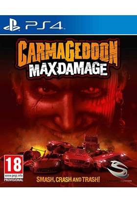 Stainlessgames Carmageddon Max Damage PS4 Oyun
