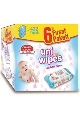 Uni Wipes Islak Havlu 6'lı Fırsat Paketi