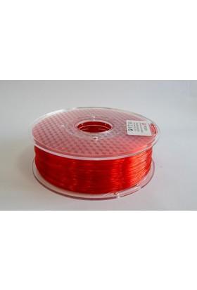 Frosch Pla Transparan Kırmızı 1,75 Mm Filament