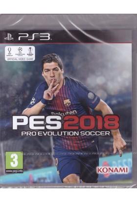 PES 2018 PS3 (Türkçe Menülü)