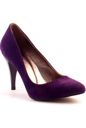 Paddy 2535 9 cm İnce Topuk Stiletto Bayan Süet Ayakkabı