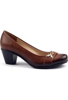 Ayakdaş 2934 Günlük 5 Cm Topuk Rahat Taban Bayan Klasik Ayakkabı