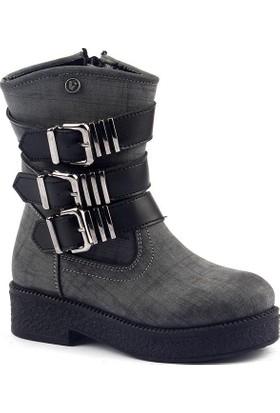 Vicco 954.V.326 Günlük Termal Fermuarlı Kız Çocuk Bot Ayakkabı