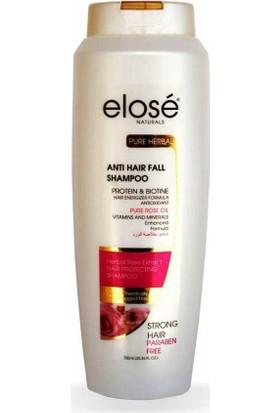 Elose Rose Extract Shampoo 750 Ml - Gül Özlü Şampuan