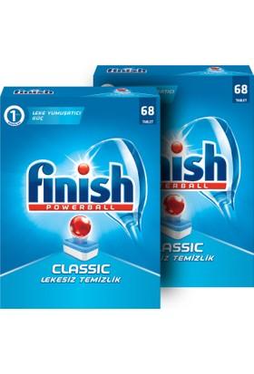 Finish Klasik Classic Bulaşık Tableti 136 Tablet