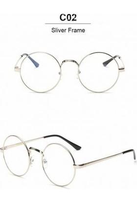Yuvarlak Çerçeve Metal Gözlük Harry Potter Gözlüğü