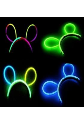 Fonnava Glow Stick Taç Fosforlu Taç Yeşil Renk