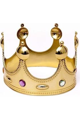 Fonnava Parti Balo Kral Tacı Altın Renk