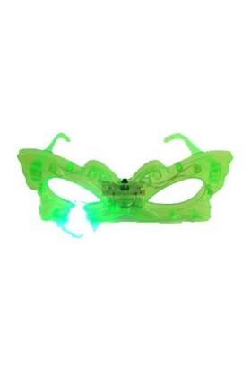Fonnava Işıklı Kelebek Parti Gözlüğü Yeşil