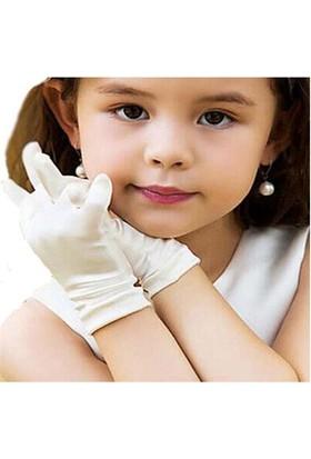 Fonnava Pandomim Çocuk Eldiveni Beyaz Renk