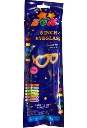 Fonnava Glow Stick Fosforlu Gözlük Mavi Renk