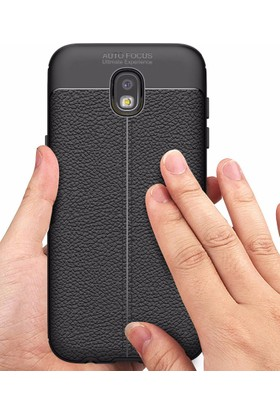 Case 4U Samsung Galaxy J530 Kılıf Darbeye Dayanıklı Niss Siyah