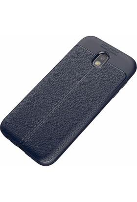 Case 4U Samsung Galaxy J530 Kılıf Darbeye Dayanıklı Niss Lacivert
