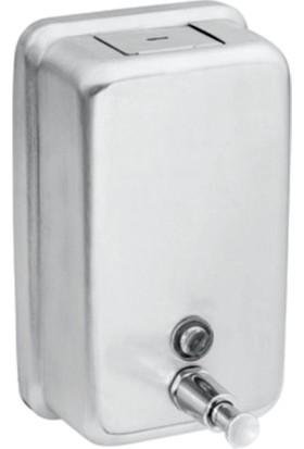 Saray Banyo Dikey Sıvı Sabunluk 1000Ml Paslanmaz Çelik
