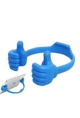 Pratik El Şeklinde Dekoratif Telefon ve iPad Standı (Asorti)