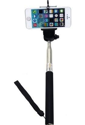 Pratik Kablolu Selfie Çubuğu Universal