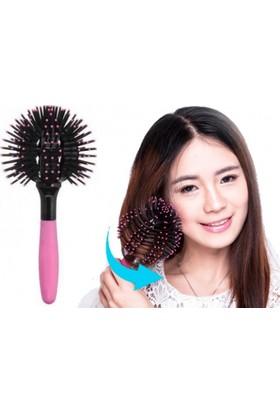 Pratik Özel Tasarım Saç Dalgalandırıcı Fırça Bomb Curl