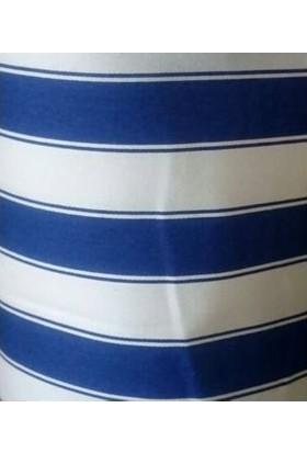5 M X 70 Cm Branda Balkon Brandası Çizgili Kumaş