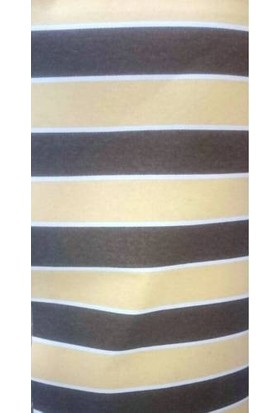 3 M X 70 Cm Branda Balkon Brandası Çizgili Kumaş