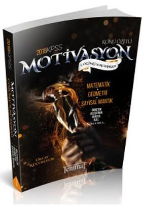 2018 KPSS Motivasyon Matematik Çözümlü Soru Bankası Teminat Yayıncılık