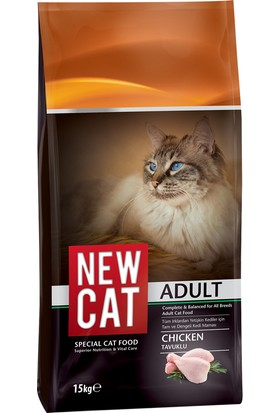 Newcat Tavuklu Yetişkin Kedi Maması 15 kg