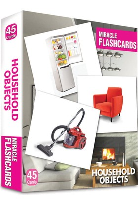 Miracle Flashcards – Household Objects Box 45 Cards