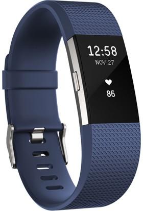 Fitbit Charge 2 Akıllı Bileklik Blue Silver - Small - FB407SBUS-EU