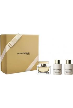 Dolce & Gabbana The One Estuche edp 75 ml spray + Body Lotion 100 ml + Shower Gel 100 ml-