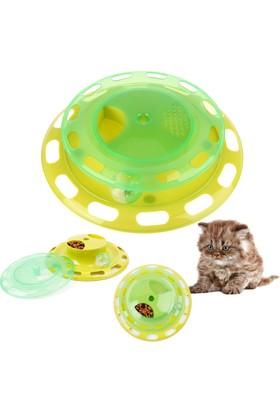 Practika Cat Turntable Eğlenceli Kedi Mama Kabı