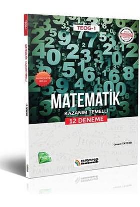 Teog 1 Matematik Kazanım Temelli 12 Deneme
