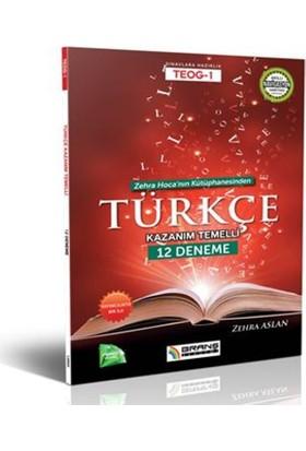 Teog 1 Türkçe Kazanım Temelli 12 Deneme