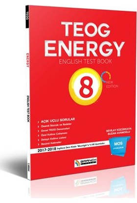 Teog Energy English Test Book