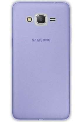Gpack Samsung Galaxy J1 Mini Kılıf 02mm Silikon Arka Kapak Case +Cam