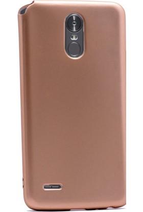 Gpack LG Stylus 3 Kılıf Premier Yumuşak Silikon Case +Cam